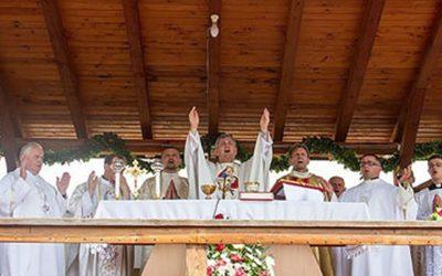 Gora kod Petrinje – Proslava  blagdana  Velike  Gospe