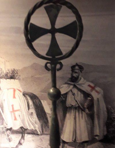 Obredni templarski križ, XII.-XIII.st.