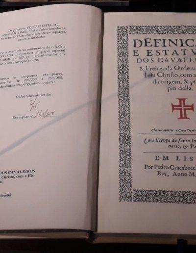 Restaurirana knjiga iz 1628.g.- pronađen Statut reda Vitezova Kristovih