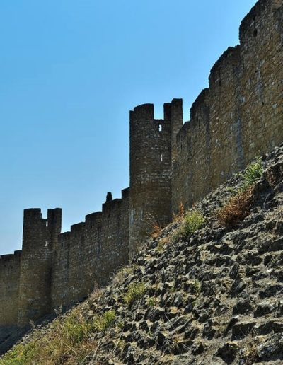 Vanjske zidine utvrde Tomar