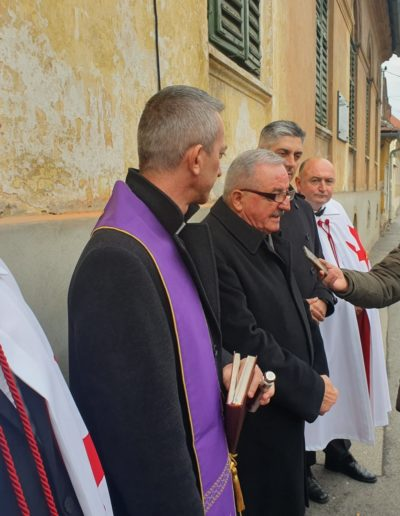Zahvala Gradu Zagrebu - Veliki prior Hrvatskog Viteškog Reda Templara O.S.M.T.H. (Vinko Lisec KGCTJ)