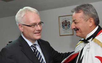 Predsjednik Republike posjetio Suvereni priorat