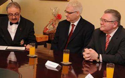 Novi susret Templara s predsjednikom Republike Hrvatske