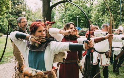 ZmaJurjevo i srednjevjekovni streličarski turnir u Zagrebu