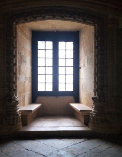 Mjesto u dvorani gdje su templarski postulanti čekali obred viteške inicijacije